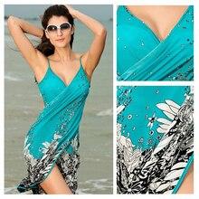 2889ee2b3aee3 Buy chiffon beachwear sarongs and get free shipping on AliExpress.com