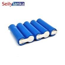 3000 mAh для RYOBI 18 V 18650 литий-ионная литиевая упаковка батареек инструментов BPL-1815 130429010 QV-90005 для самостоятельной установки