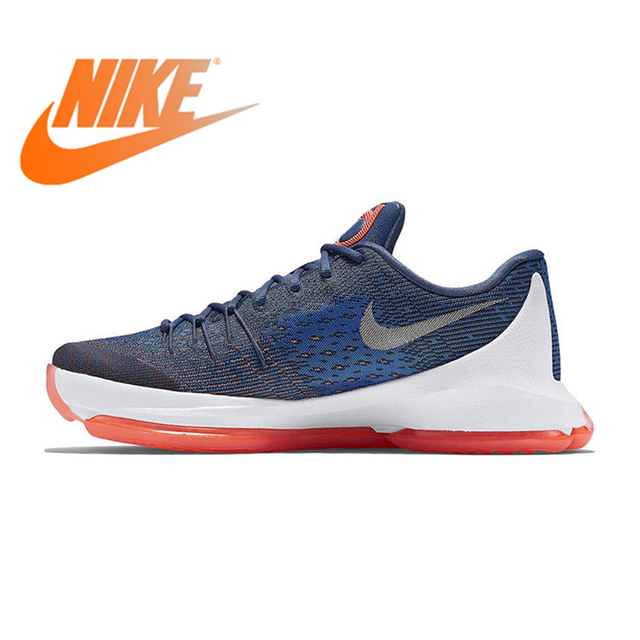 70d834bd1c36 Official Original NIKE Originals KD 8 EP Low Men s Breathable Cool  Basketball Shoes Sneakers Authentic Sports outdoor 800259-414