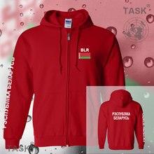 Belarus Belarusian mens hoodies and sweatshirt casual polo sweat suit streetwear tracksuit nations fleece zipper flag BLR 2017