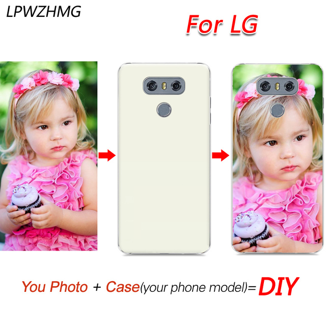 superior quality d02d4 a65d7 US $3.03 32% OFF|LPWZHMG Custom Logo Phone Case Printing Back Cover For LG  G3 G4 Soft TPU PC Hard Case Customized With Own Logo DIY Phone Cases-in ...