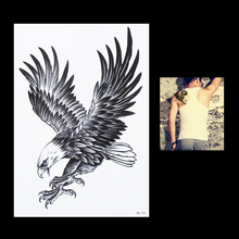 1pc Sexy Women Men Flying Eagle Bird Flower Arm Body Art Animal Painting Tatoo HB105 Temporary Tattoo Paste Sticker Paper Design