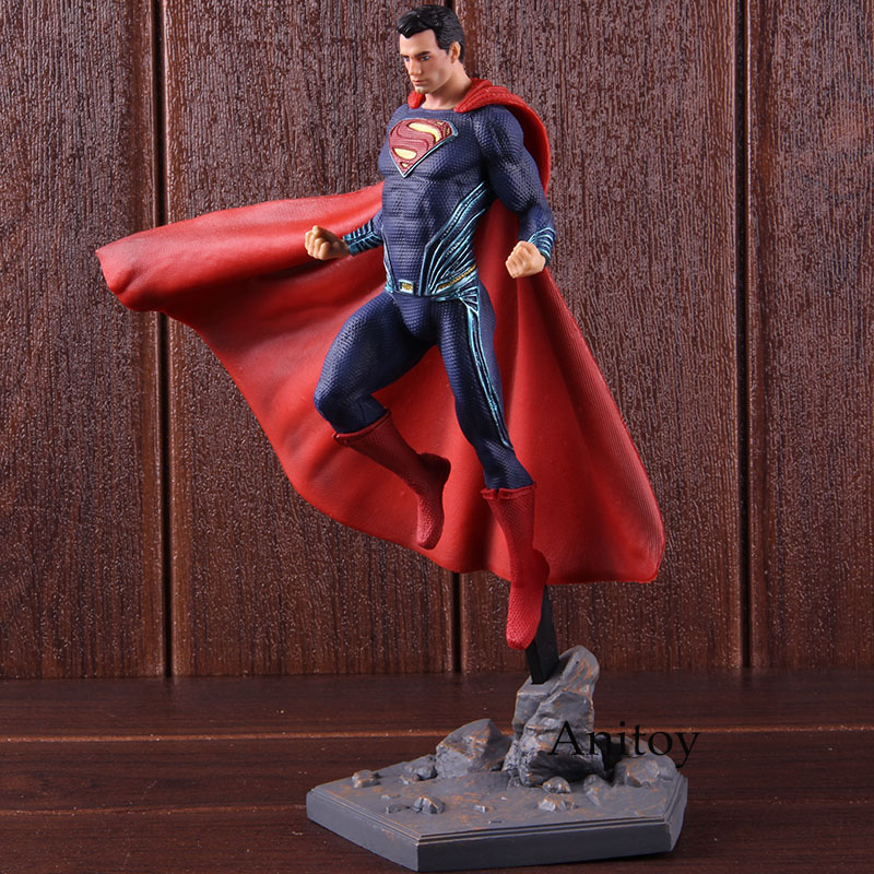 Image 4 - DC Superman Figure IRON STUDIOS Justice League Superman Action Figure Super Man PVC Collectible Model Toy-in Action & Toy Figures from Toys & Hobbies