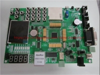 ATMEGA32 16 324 AVR MCU Development Board LCD Ethernet ENC28J60 Emulator