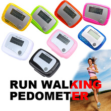 Digital LCD Step Counter Run Walk Walking Pedometer Distance Calorie Monitor High Quality