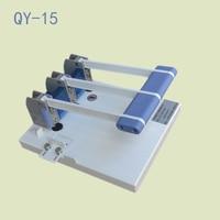 1ピースQY-15ヘビーデューティ連ギロチンa4サイズスタック紙カッター紙切断機、パンチングマシン3ミリメートル/4ミリメートル/5ミリメートル/6ミリメートル