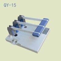 1 unid qy-15 Heavy Duty guillotina A4 tamaño pila cortador de papel Cúter máquina, punzonadora 3mm/4mm/5mm/6mm