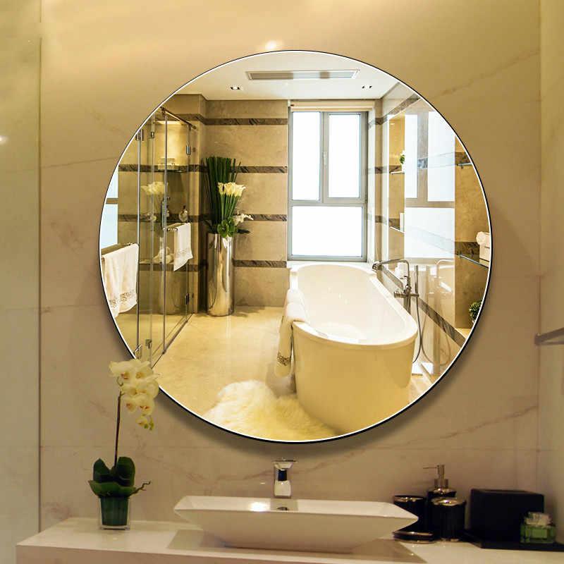 Round Bathroom Mirror Wall Hanging Bath