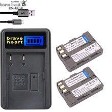 Cœur courageux EN-EL3e EN-EL3a EN EL3e EL3a ENEL3e Batterie pour Appareil Photo Nikon D300S D300 D100 D200 D700 D70S D80 D90 D50 MH-18A