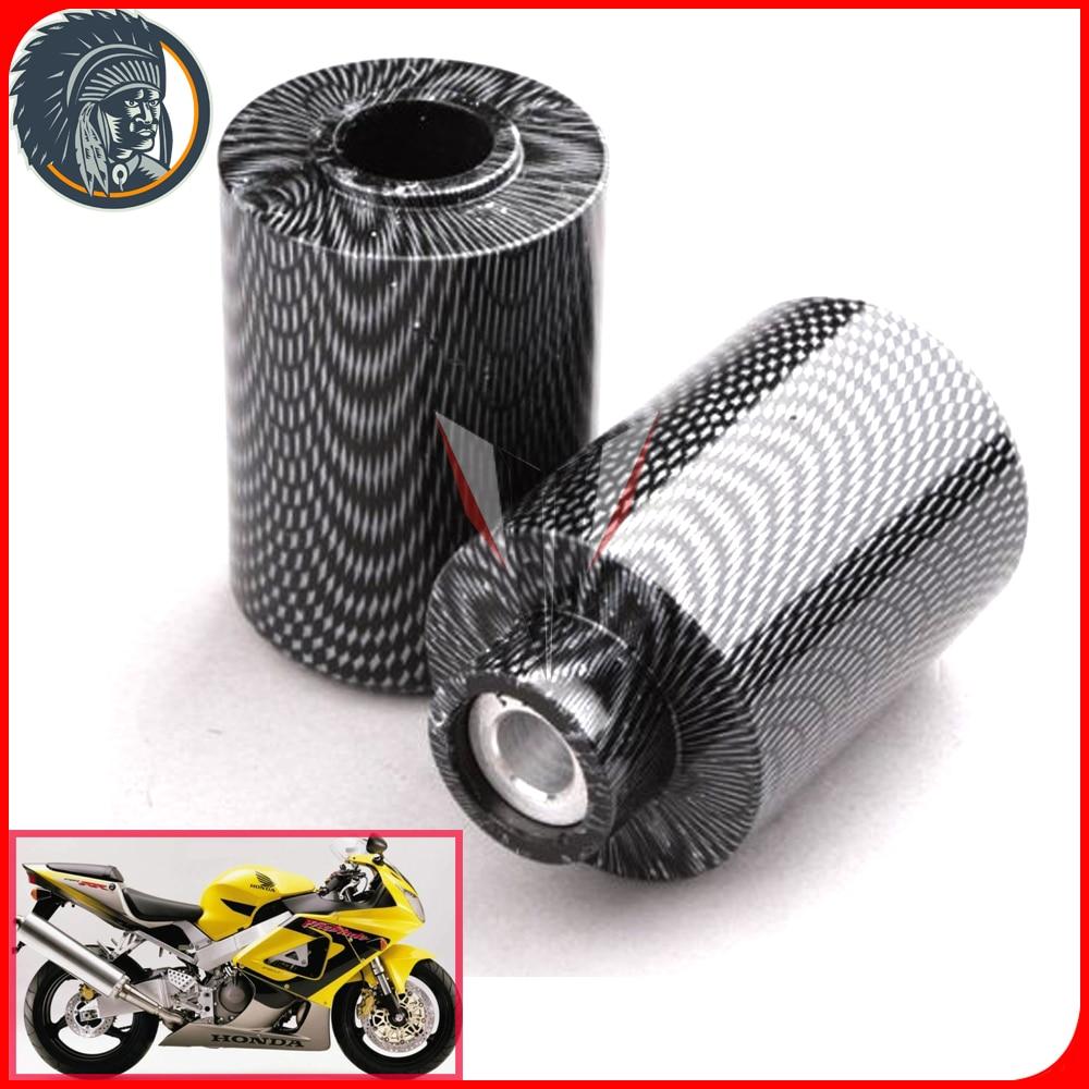 Motorcycle No Cut Frame Slider For 2000-2001 Honda CBR 929RR 2002-2003 CBR954RR RR Black
