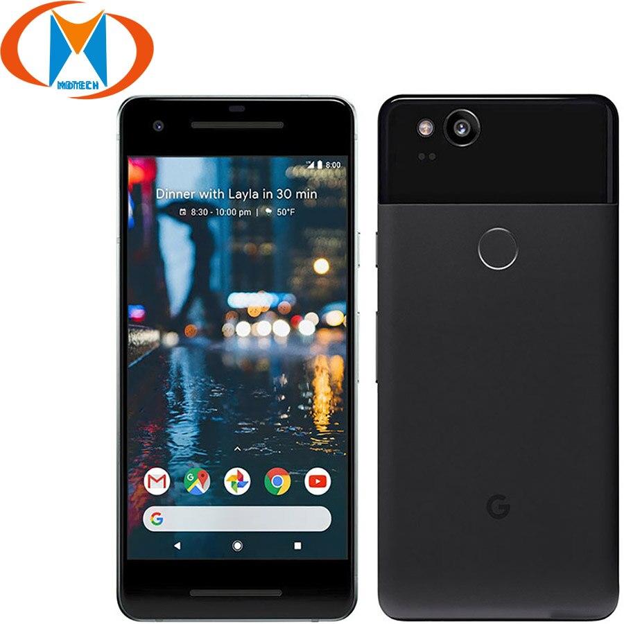 Novo original google pixel 2 eua versão 4 gb ram 128 gb rom 5.0 snapsnaptelefone móvel snapdragon 835 octa núcleo impressão digital nfc smartphone