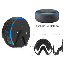Support de suspension mural pour haut-parleur Echo Dot 3rd génération Assistants vocaux support en plastique(China)