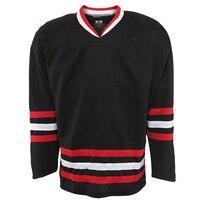 Darmowa wysyłka puste hokej na lodzie koszulki hurtownie praktyka hokej koszule