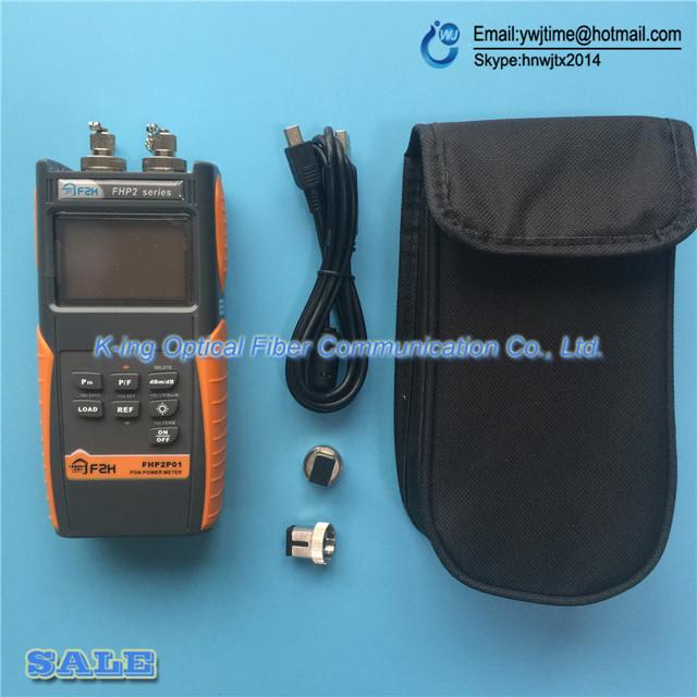 Original FHP2P01 Grandway PON Medidor de Potencia Óptica para EPON GPON, xPON OLT-ONU 1310/1490/1550nm