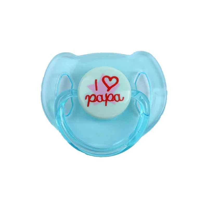 Новые милые 4 цвета Магнитные соски для возрожденных куклы для младенцев принадлежности пустышка соска + магнитные соски