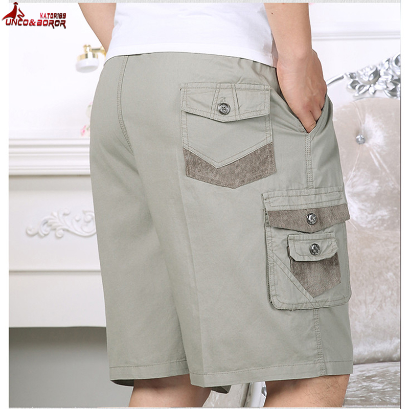 New Cargo Shorts Men Summer Fashion Army Military Tactical Homme Shorts Casual Multi-Pocket Male Baggy Trousers