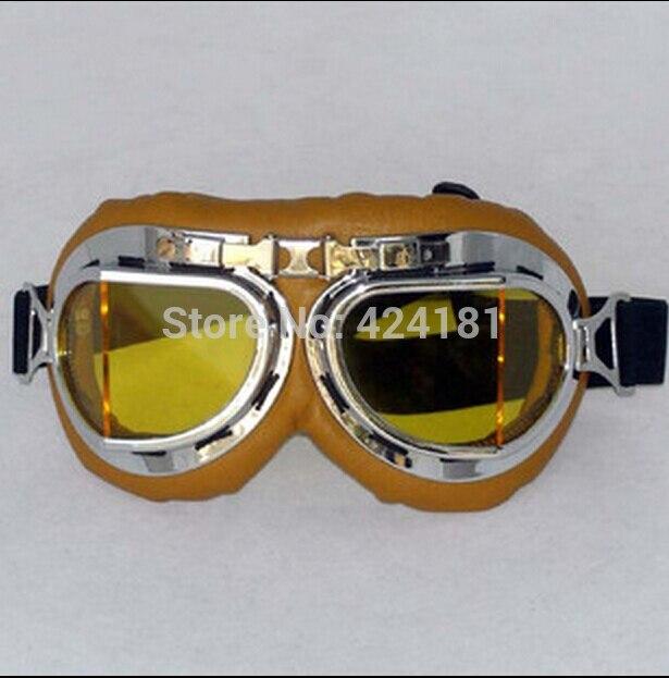 e180641cdc1a6 Nova T08 Óculos Lente Amarela Óculos de Motocross Da Motocicleta Óculos de proteção  Motociclista Piloto Do