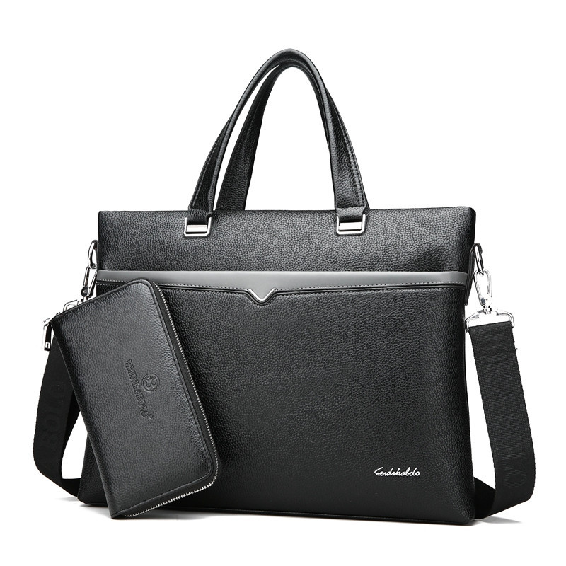man bag briefcase laptop Leather bag Briefcase Laptop Handbag Messenger Business Bags for Men cartable все цены
