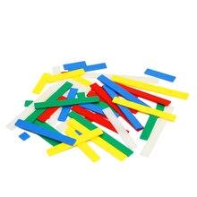 Деревянный Арифметическое Правителей Многоцветный Монтессори Подсчет Дошкольного Математика Обучения Игрушка Дети Дети Math Игрушки