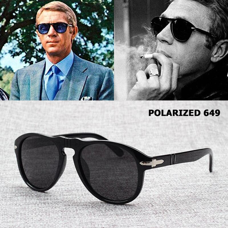 Vintage clásico 649 De JackJad estilo aviación polarizada gafas De Sol hombres conducción nueva marca gafas De Sol Oculos De Sol Masculino