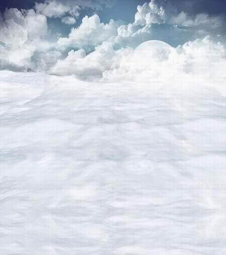 custom heaven clouds sky wallpaper vinyl print photography backdrops
