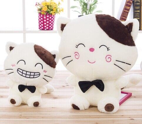 Hadiah Untuk Bayi 1 Pc 25 Cm Kartun Lucu Cat Wajah Cantik Lembut