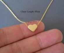 Heart Necklace for Women Long Chain Heart Shape Pendant Necklace