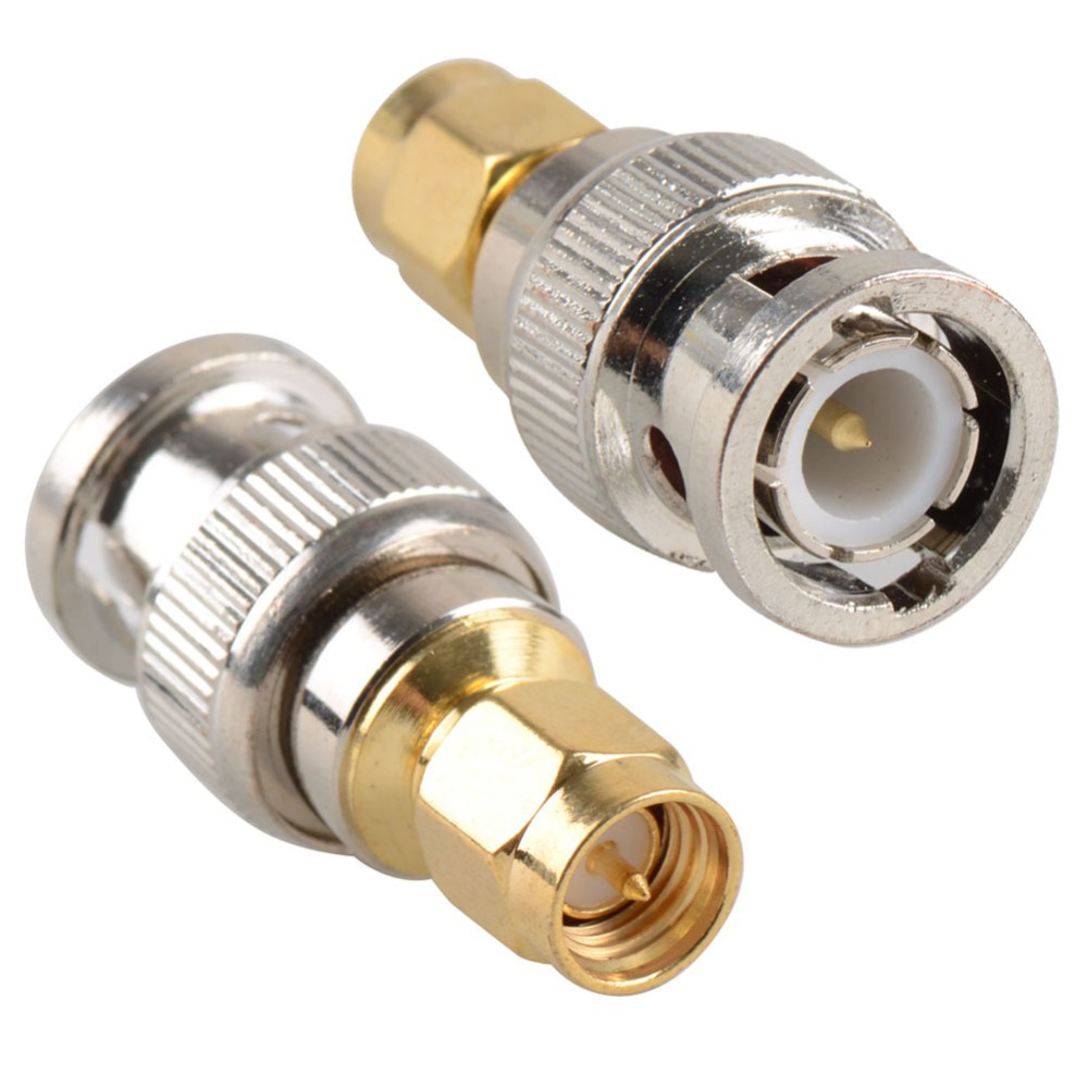 SMA Male to SMA Male Plug in series RF Coaxial Adapter Connector low price VC410 P