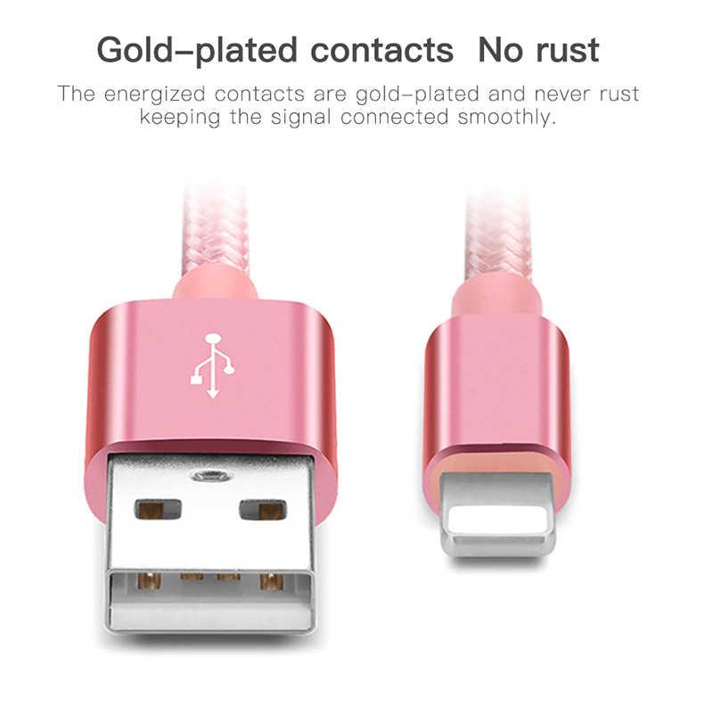 ! ACCEZZ kabel USB do telefonu iPhone oświetlenie XS MAX 7 X XR 6 8 Plus SE iPad Pro Mini szybkie ładowanie ładowarka przewód danych kabel do telefonu komórkowego