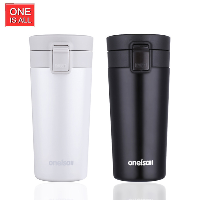 Hot Car Thermos Stainless Steel Thermo Mug Insulated Keep Coffee Mugs Vacuum Flask Cup Water For
