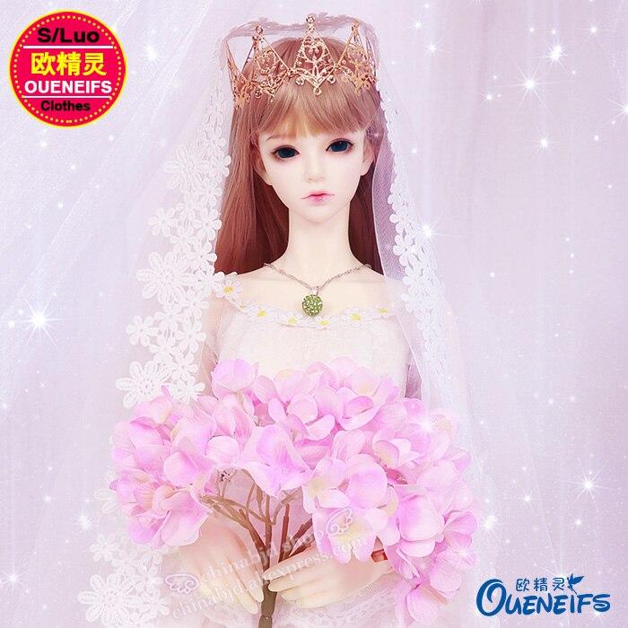 BJD vêtements livraison gratuite robe de mariée, robe de soirée, jupe, bébé vêtements 1/3 bjd sd vêtements de poupée, pas de poupée ou perruque YF3-178