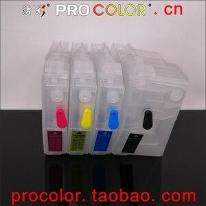 Image 2 - Completo lc3619 xl lc3617 recarga cartucho de tinta para o irmão mfc j3930dw j3530dw j2330dw j2730dw MFC J2330DW impressora a jato de tinta com chips