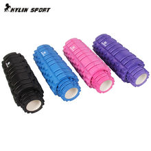 The set of foam roller a small foam roller and a large foam roller relax column 4colors gym fitness sporting equipment