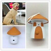 Odkryty Grzyby Stylu Kontroli Kontroler Birdhouse Sonic Odstraszacz Ultradźwiękowy Anti Pet Dog Bark Kora Stop Dog Training Device