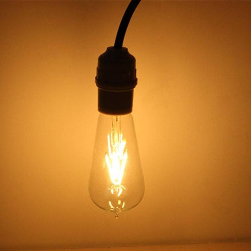 Hot Sales 4W 220v LED Bulbs E27 Screw Filament High Brightness Clear Glass Energy Saving Decorative Lamp Night Light AA