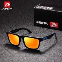 DUBERY Polarized Sunglasses Men Hot Sale Quality Sun Glasses Men Women Driving Retro 2018 Luxury Brand Designer UV400