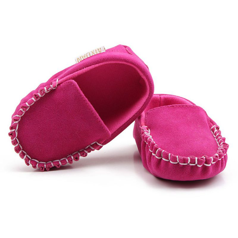 Spring Summer Baby Girl First Walkers Shoes Soft Soled Non-slip Footwear Crib Shoes For Baby Boy