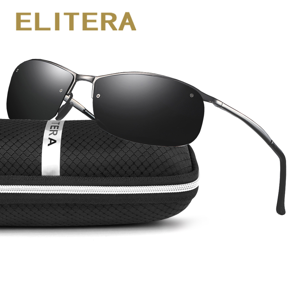 ELITERA Polarized Sunglasses Men Women Driving Male Sun Glasses Fishing Sport Style Eyewear Accessories