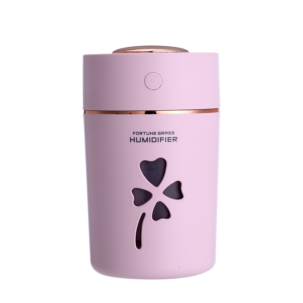 usb air humidifier 280ml car humidifier 7 Color Changing LED light mini air humidifier home office in Humidifiers from Home Appliances