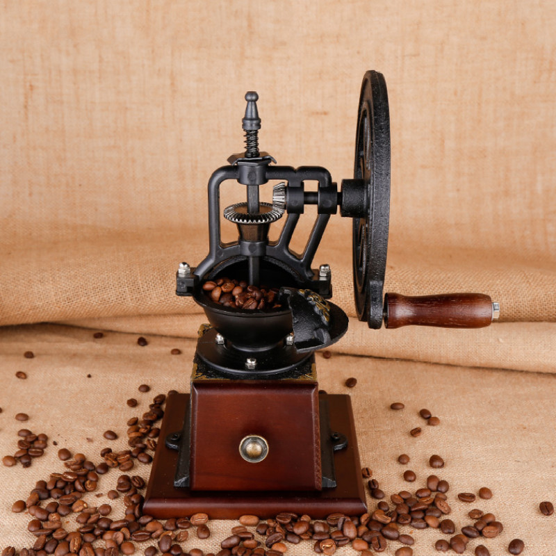Coffee Bean Grinder Hand Grinder Small Crusher Stainless Steel Grinding Core Strong and Sturdy