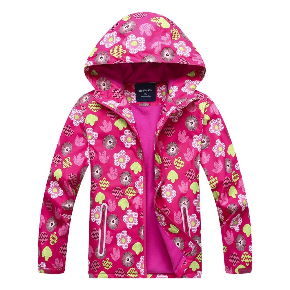 Waterproof Index 5000mm Windproof Child Coat Baby Girls Jackets Warm Children Outerwear Clothing For 3-12 Years OldWaterproof Index 5000mm Windproof Child Coat Baby Girls Jackets Warm Children Outerwear Clothing For 3-12 Years Old