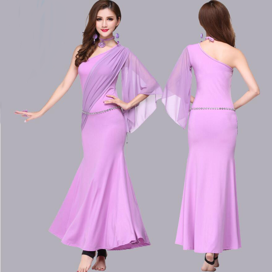 India Dancing Clothes For Adult Indian Sari Dress Belly