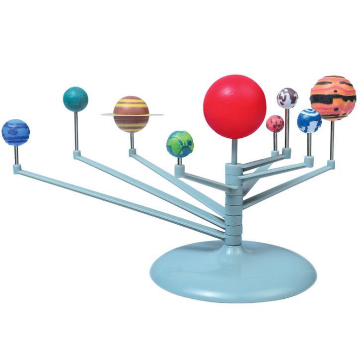 2018 nuevo DIY el sistema Solar nueve planetas modelo planetario Kit ciencia astronómica Proyecto Educación Temprana para niños SEKIRO sombras morir dos veces figura de juego Anime PVC figuras de acción juguete 200mm SEKIRO: sombras morir dos veces modelo de colección