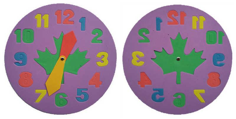 Комплект из 2 предметов, детский украшение «сделай сам» Часы Обучающие игрушки Веселая игра-головоломка детская игрушка, подарок для детей возрастом от 3 до 6 лет, GYH