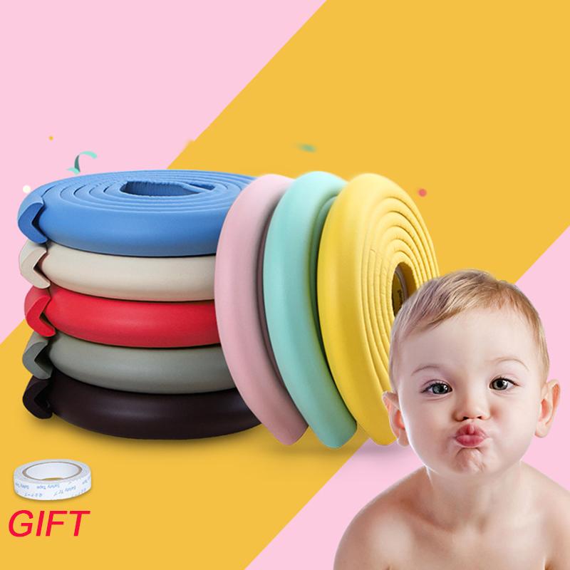 Protection from Children <font><b>Baby</b></font> Safety Corner Protector Table Child <font><b>Proof</b></font> Silicone Edge Guards Strip 2M Rubber Cushion Glass Desk image