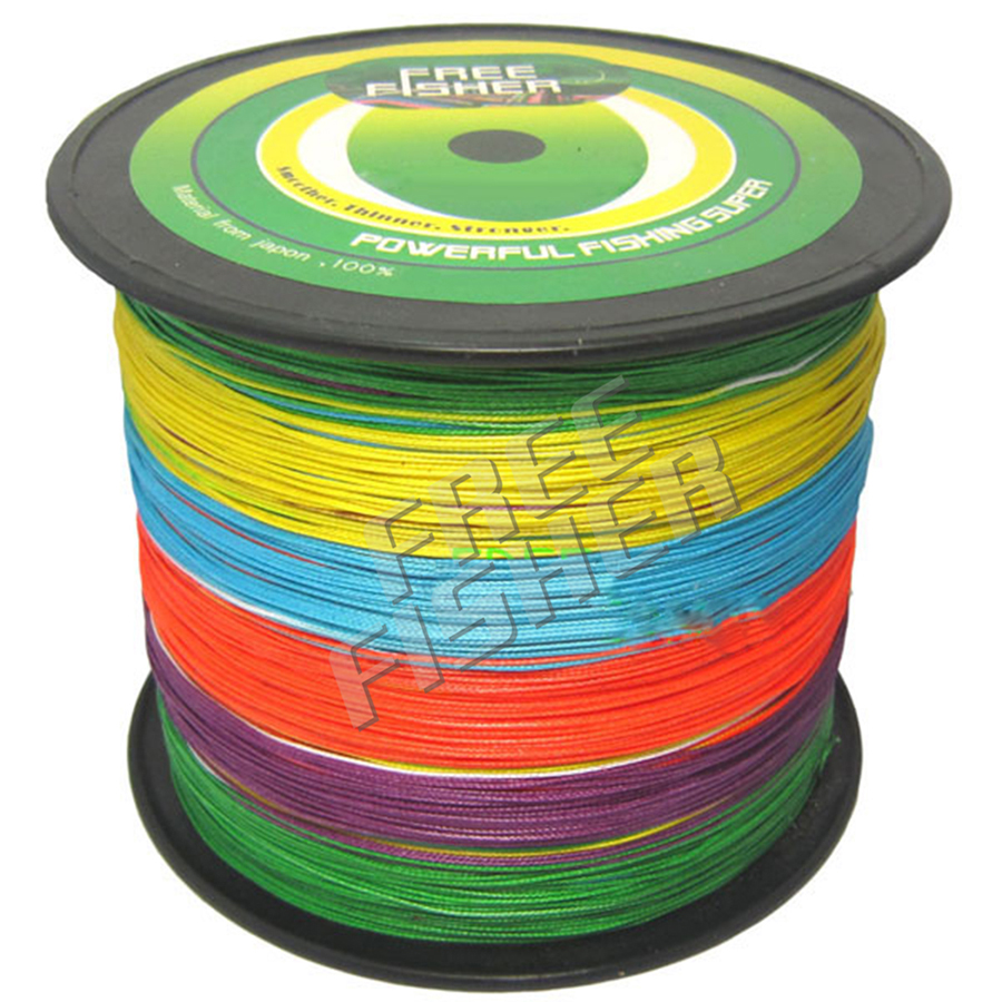 цена на 1000M PE Braided Fishing Line 8 Strands Multifilament Sea Fishing Rope Wire linha multifilamento para pesca 120LB 135LB 150LB