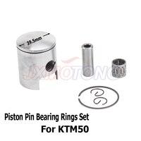39.5MM 12MM Piston Ring Bearing Kit KTM50 50 50CC KTM 50SX 50 JUNIOR 2001 2014 water cool
