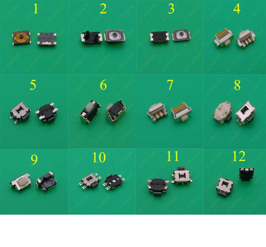 12 modèles de téléphone portable commutateur tactile bouton d'alimentation interrupteur d'alimentation pour Nokia E71 Samsung S2 3 pour Iphone 4 4S 5 tortue bouton de commutation