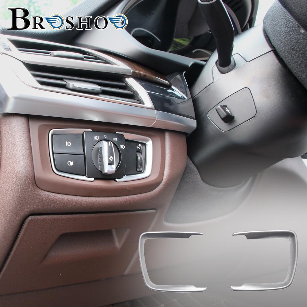 2014 5 bmw x5 m amp x6 m f85 f86 page 5 - Broshoo Car Headlight Switch Sticker 3d Decals For Bmw X5 F15 X6 F16 2014 2017