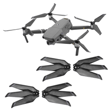4 adet 8743F karbon Fiber pervane DJI Mavic 2 Pro Zoom Drone 3 bıçak katlama bıçak sahne Mavic 2 yedek pervane parçaları